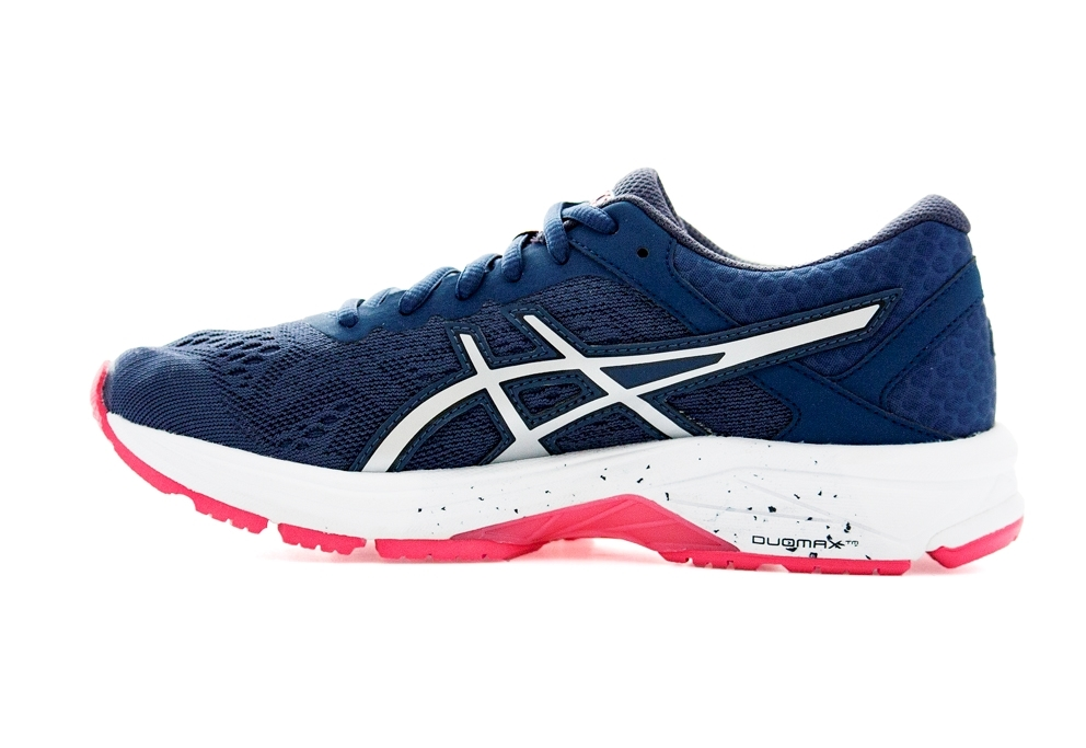 Asics GT-1000 6 W - Insignia Blue / Silver / Rouge Red