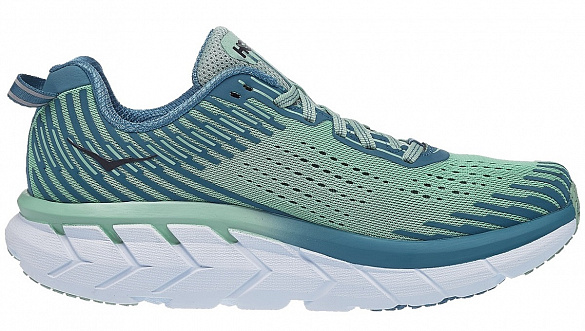 HOKA ONE ONE CLIFTON 5 W - Lichen / Storm Blue
