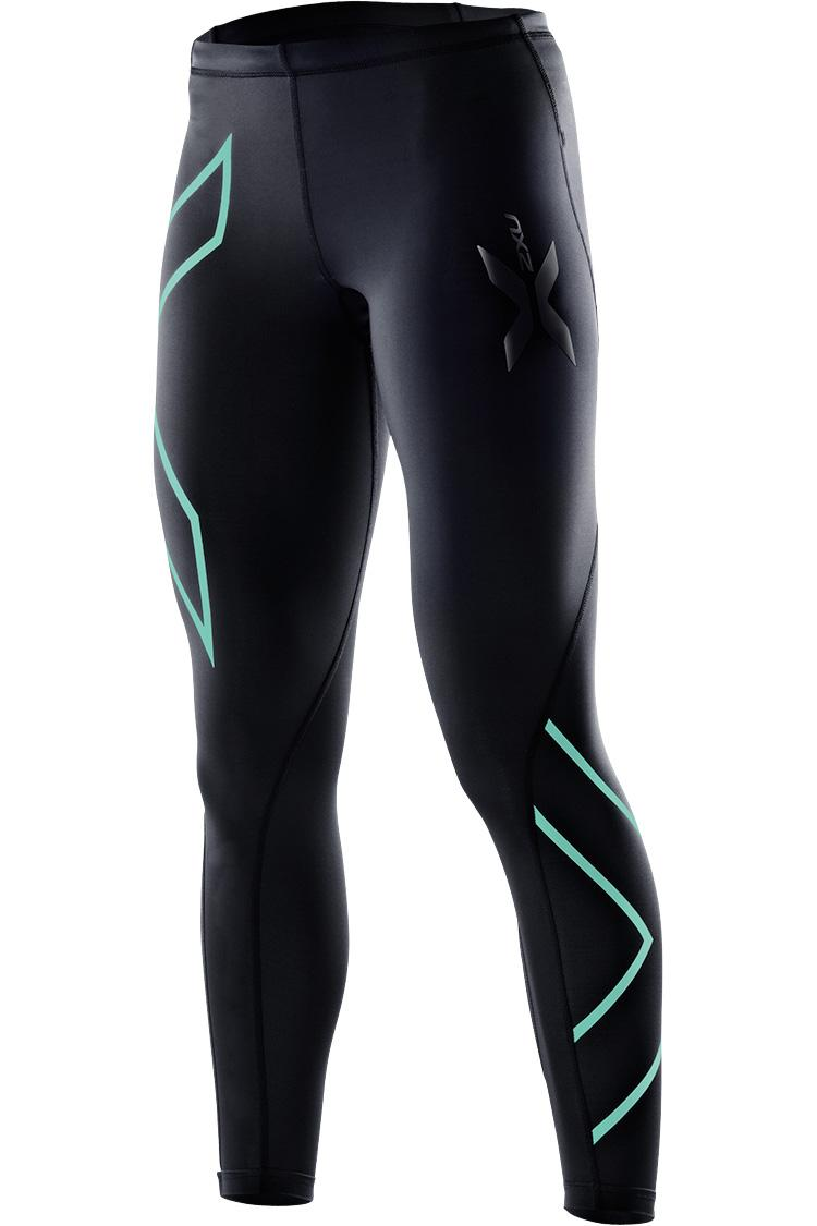 Тайтсы компрессионные 2XU W - Black / Ice Green