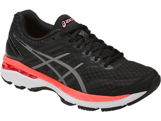 Asics GT-2000 5 W - Black / Carbon / Flash Coral