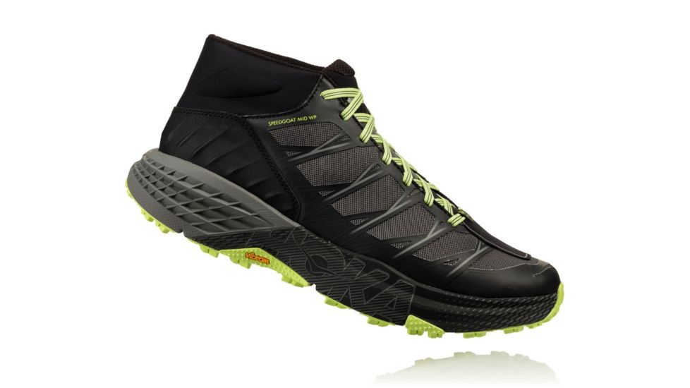 HOKA ONE ONE Speedgoat Mid WP M - Black / Steel Grey
