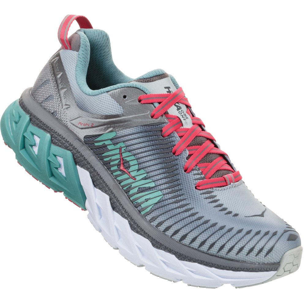 HOKA ONE ONE ARAHI 2 W - Steel / Gray Metal