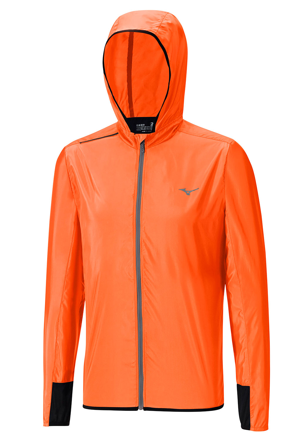 Mizuno Куртка Lightweight Hoody Jacket M - Clown Fish / Tornado