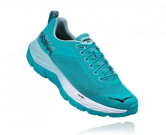 HOKA ONE ONE Mach W - Bluebird / White