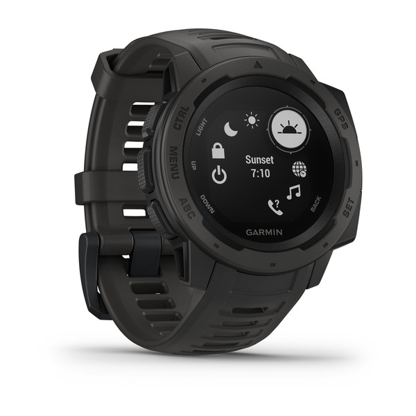 Смарт-часы Garmin Instinct Graphite