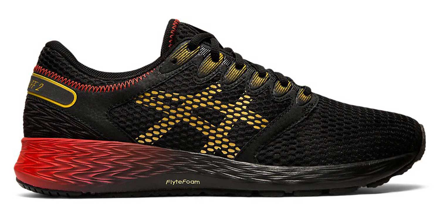 Asics RoadHawk FF 2 M - Black / Rich Gold