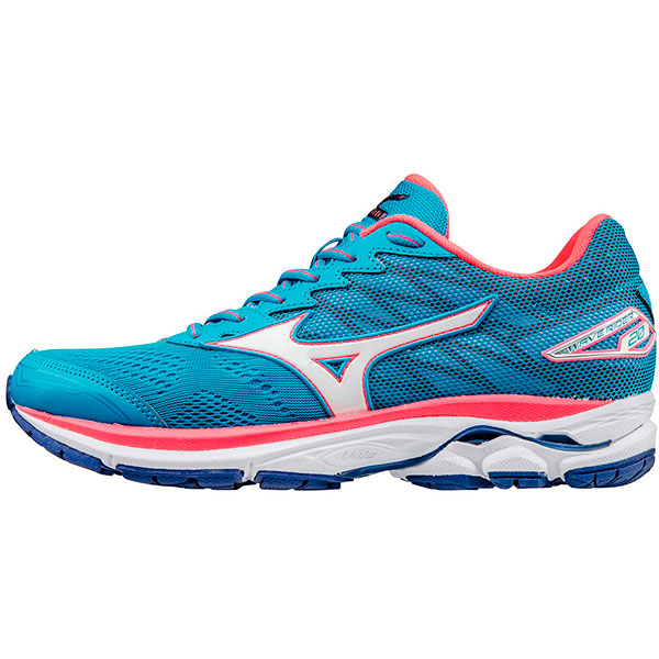 Mizuno WAVE RIDER 20 W - Liberty / Black / Electric