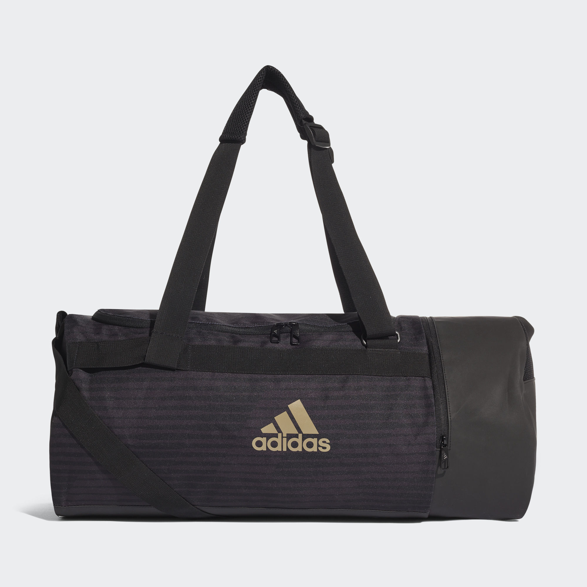 Спортивная сумка Adidas Football Street - Black / Raw Gold