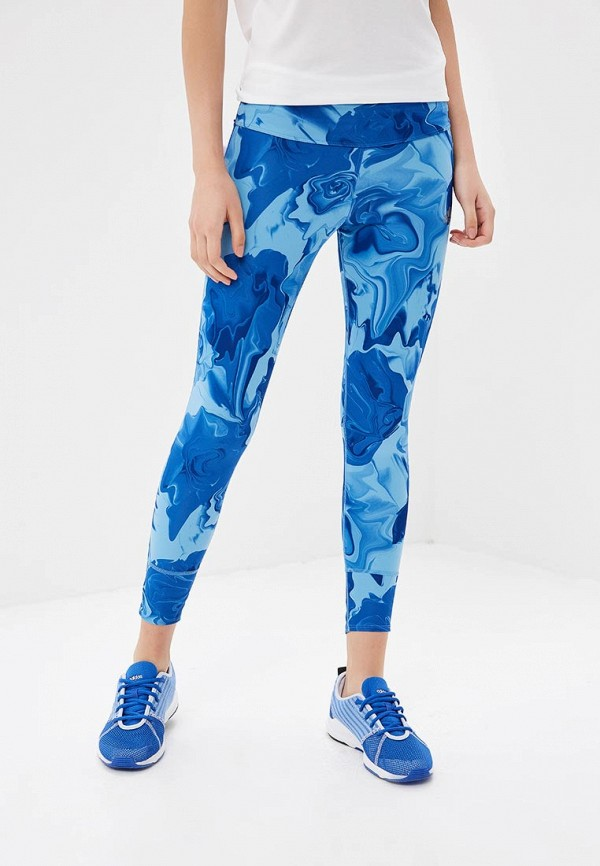 Леггинсы для бега Adidas Response Tight W - Aero Blue / Raw Grey / Mystery Ink