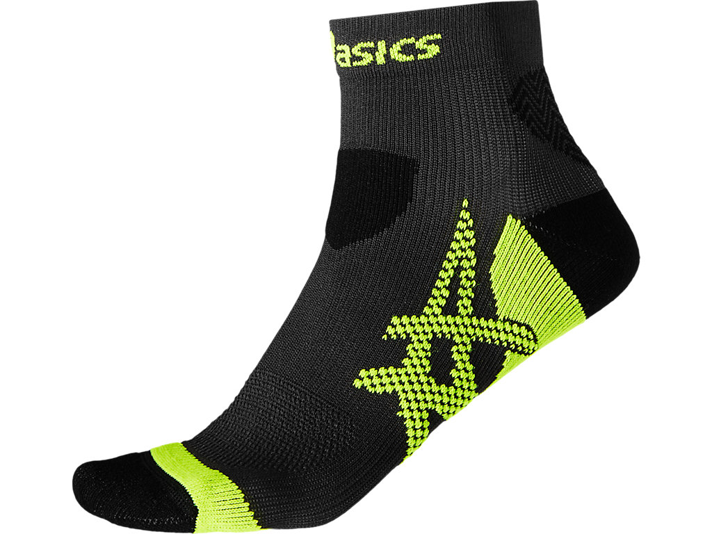 Asics Носки Kayano Socks  - Dark Grey / Sulphur Spring