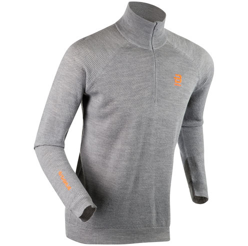 Жакет беговой Bjorn Daehlie 2018-19 Half Zip Lodge M - Light Grey Melange