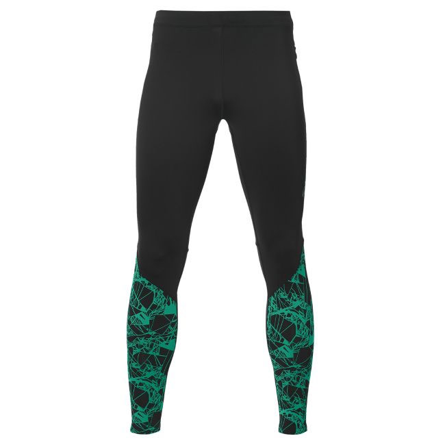 Asics Тайтсы fuzeX Graphic Tight M - Optical Jungle Green
