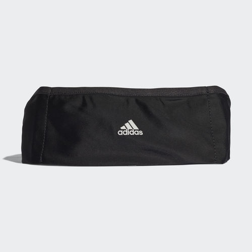 Сумка на пояс Adidas Run Plus - Black / Reflective
