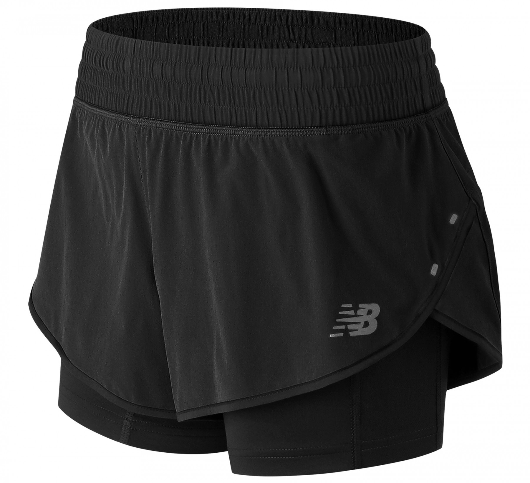 Шорты New Balance Impact Short 4in W - Black