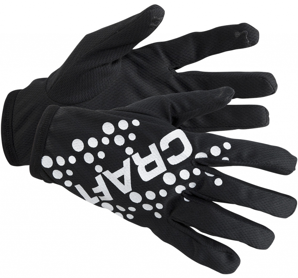 Перчатки CRAFT Printed Jersey Glove - Black