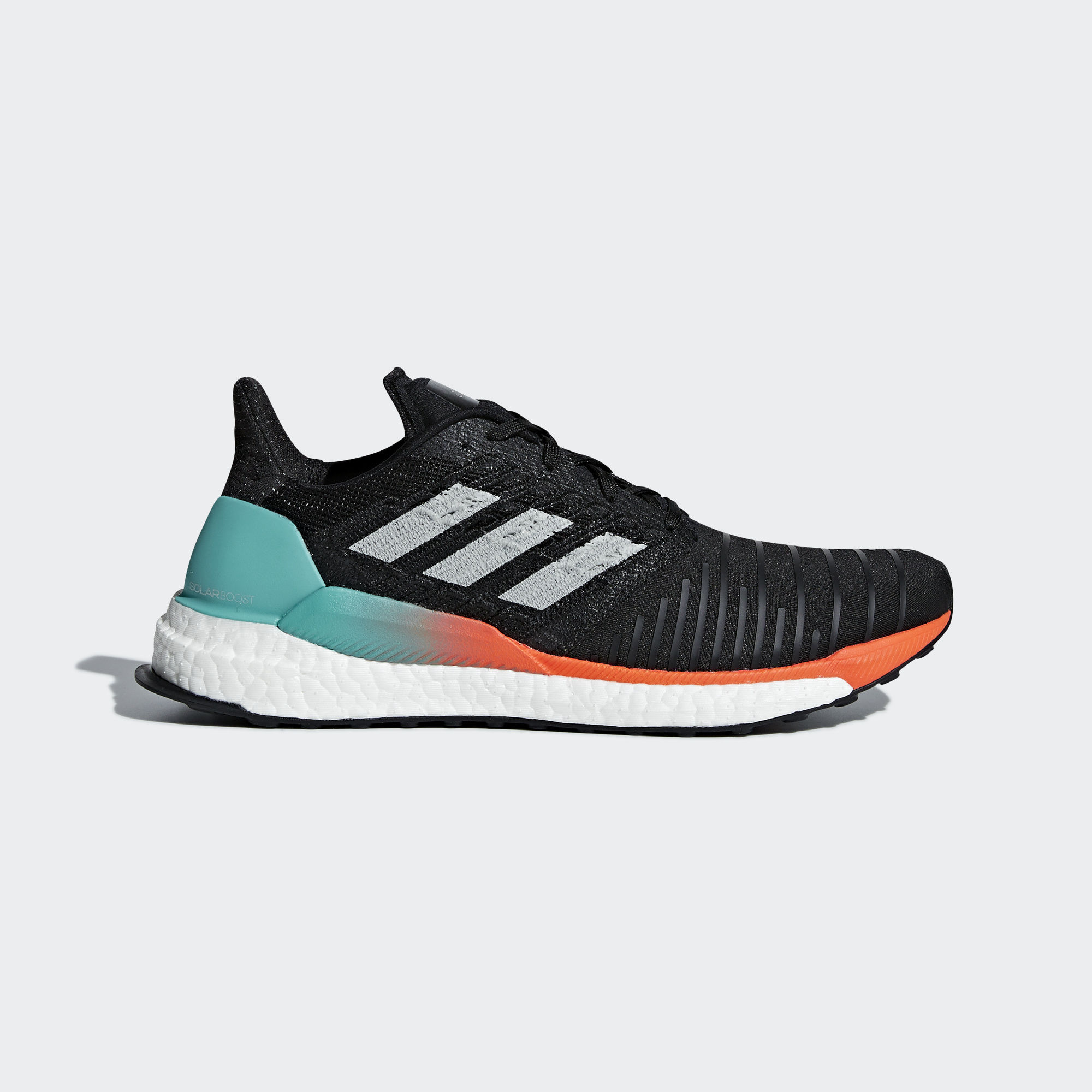 Adidas SolarBoost M - Core Black / Grey Two F17 / Hi-res Aqua