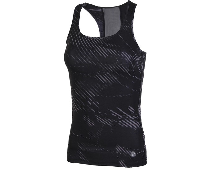 Майка Asics Fitted Tank W - Shadow Performance Black