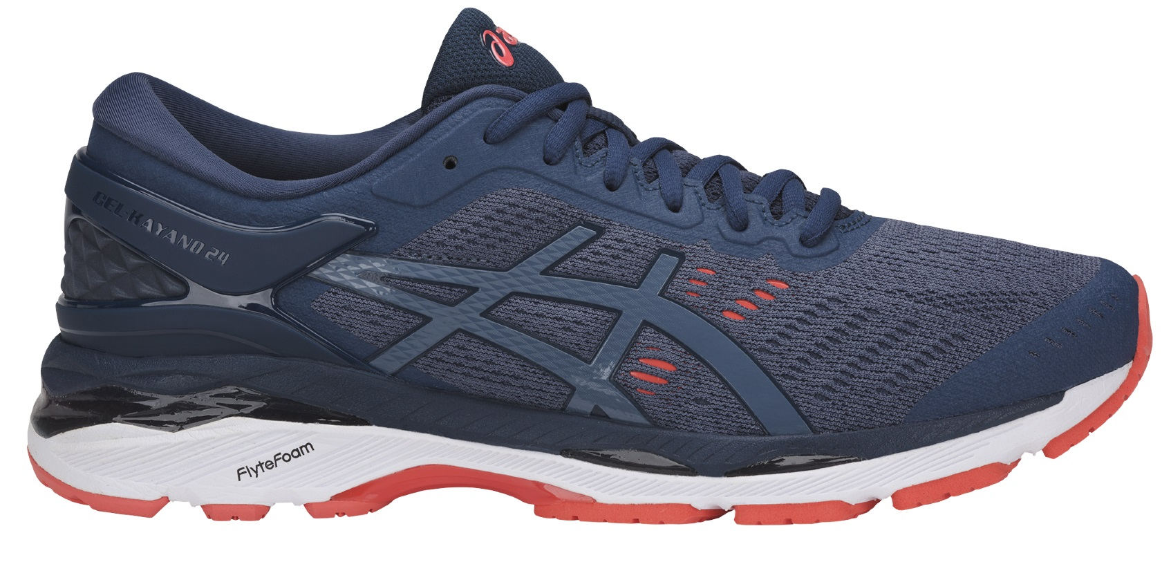 Asics GEL-KAYANO 24 M - Smoke Blue / Smoke Blue / Dark Blue