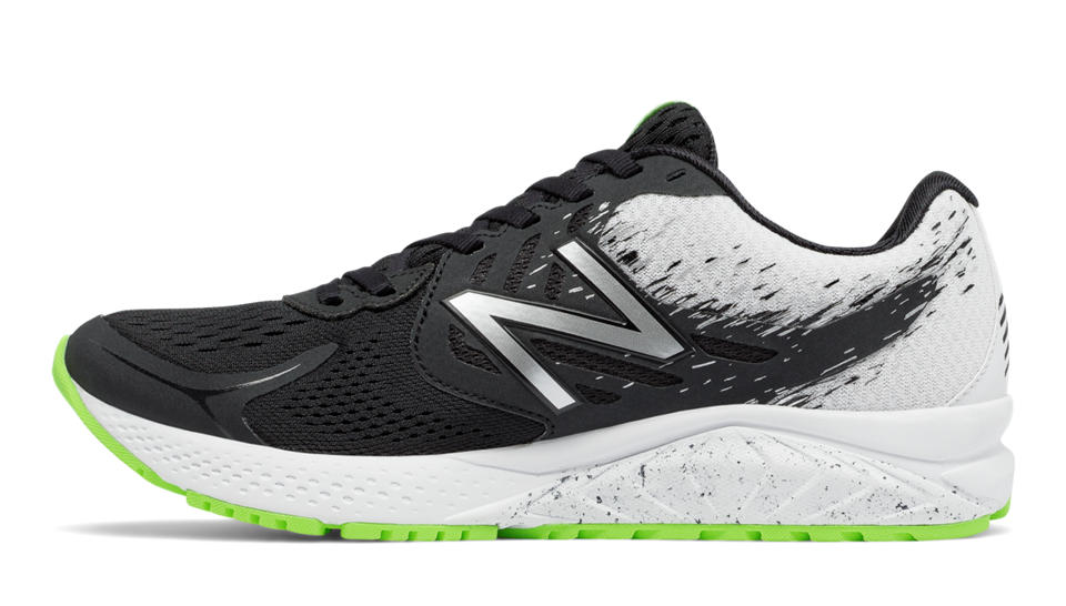 New Balance NB WPRSMBW2 W - Black / White / Lime Glo