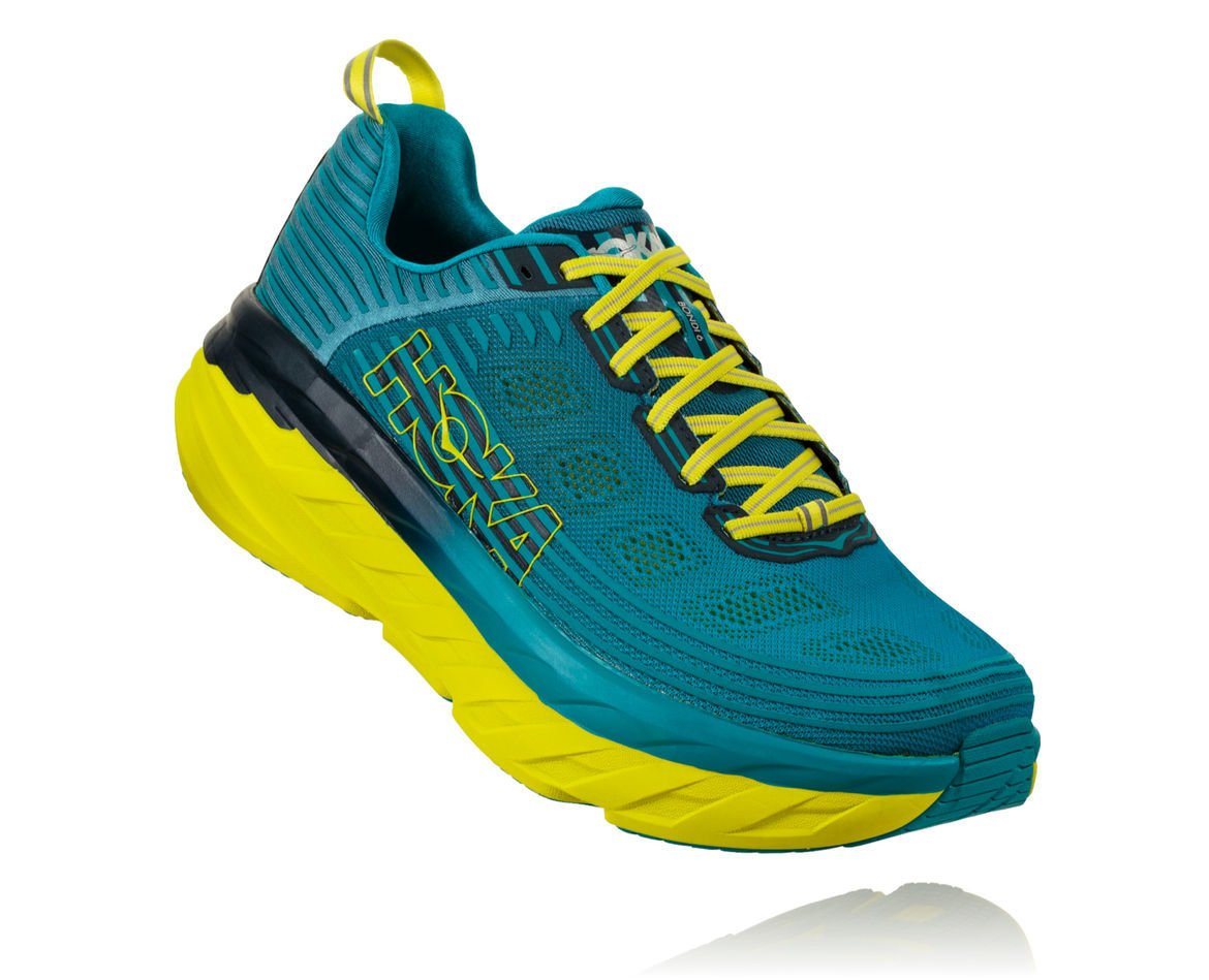 HOKA ONE ONE BONDI 6 M - Carribean Sea / Storm Blue