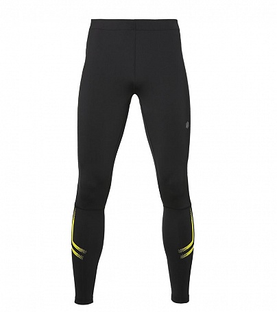 Тайтсы Asics Icon Tight W - Performance Black / Sulphur Spring
