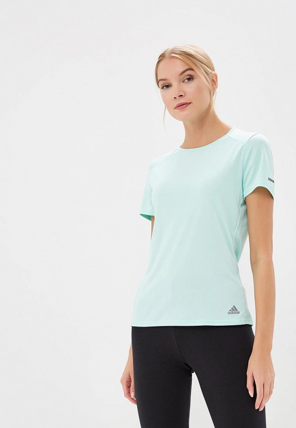 Футболка для бега Adidas Run T-Shirt W - Clear Mint
