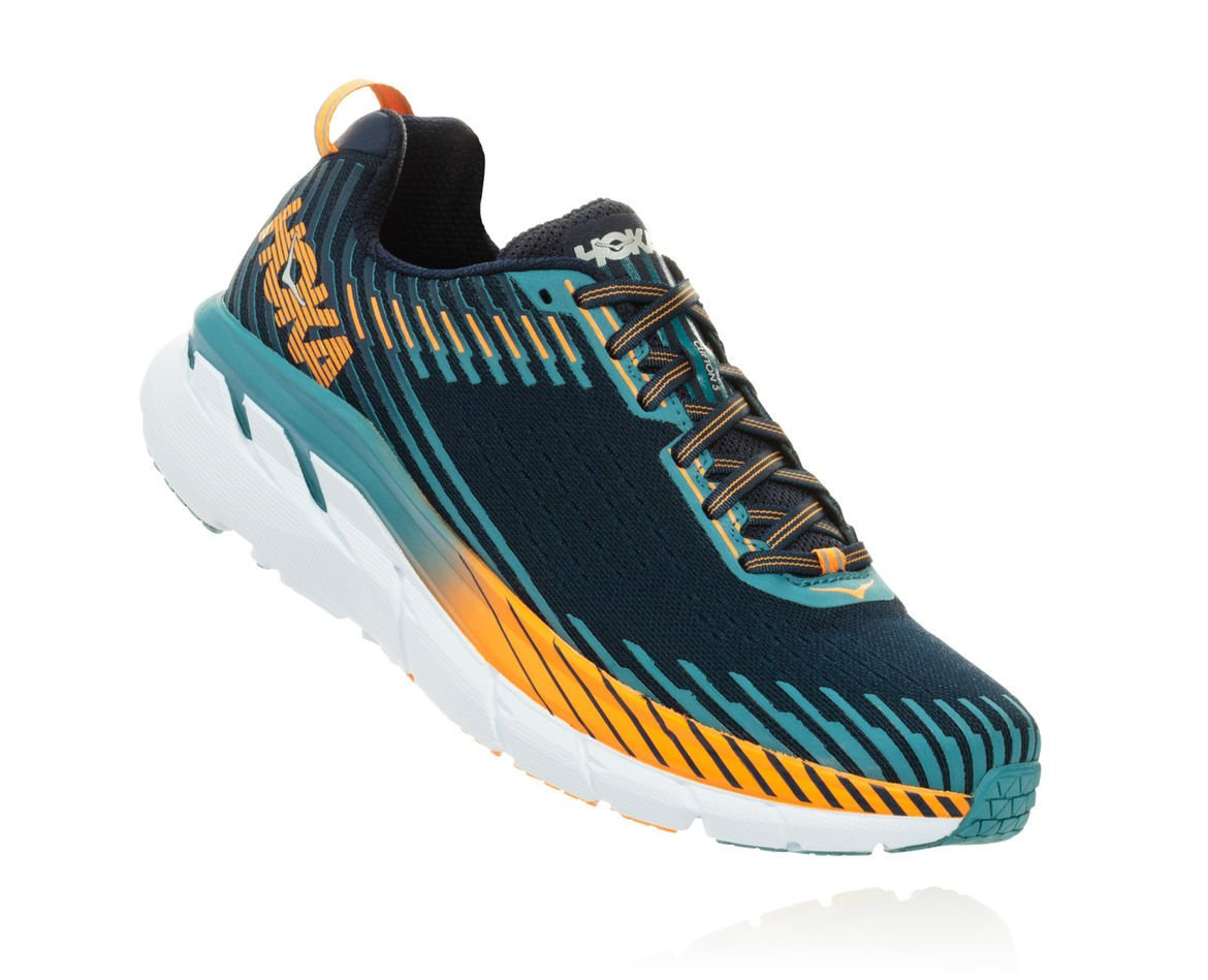 HOKA ONE ONE CLIFTON 5 M - Black Iris / Storm Blue