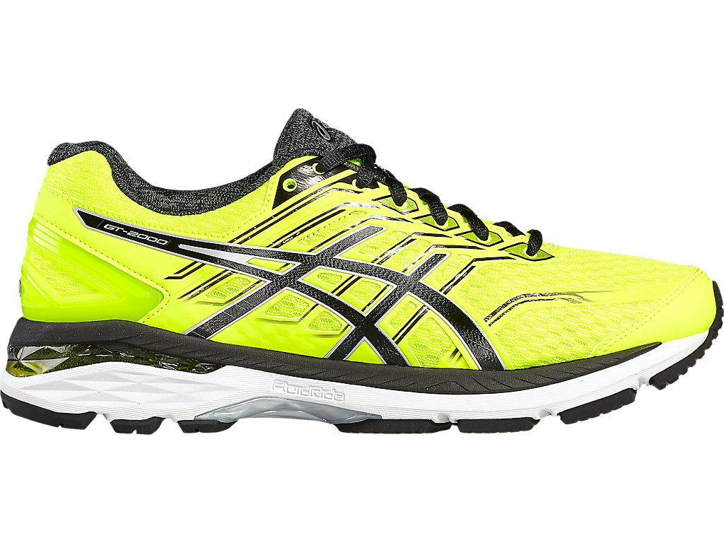 Asics GT-2000 5 M - Safety Yellow / Black / Silver