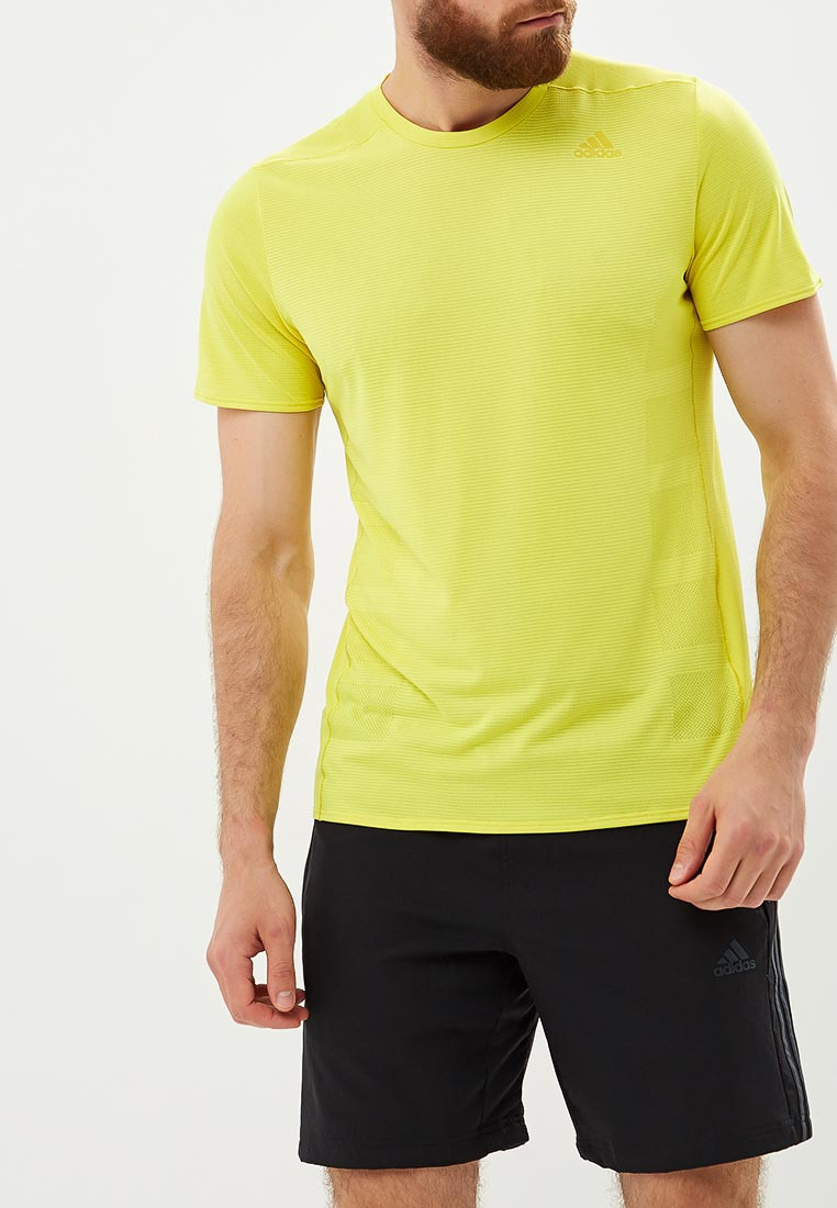 Футболка для бега Adidas Supernova Tee M - Shock Yellow