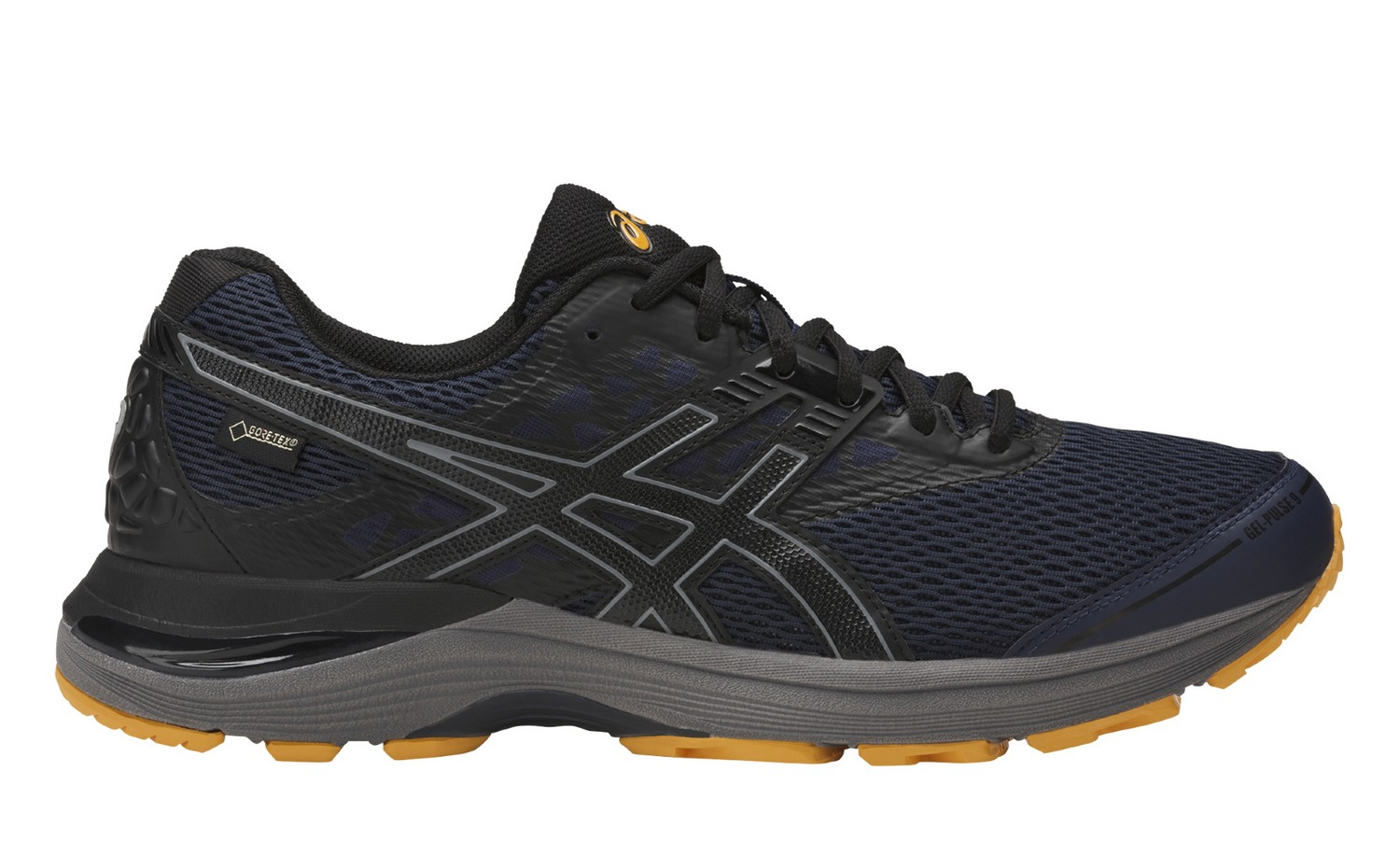 Asics GEL-PULSE 9 G-TX M - Peacoat / Black / Gold Fusion