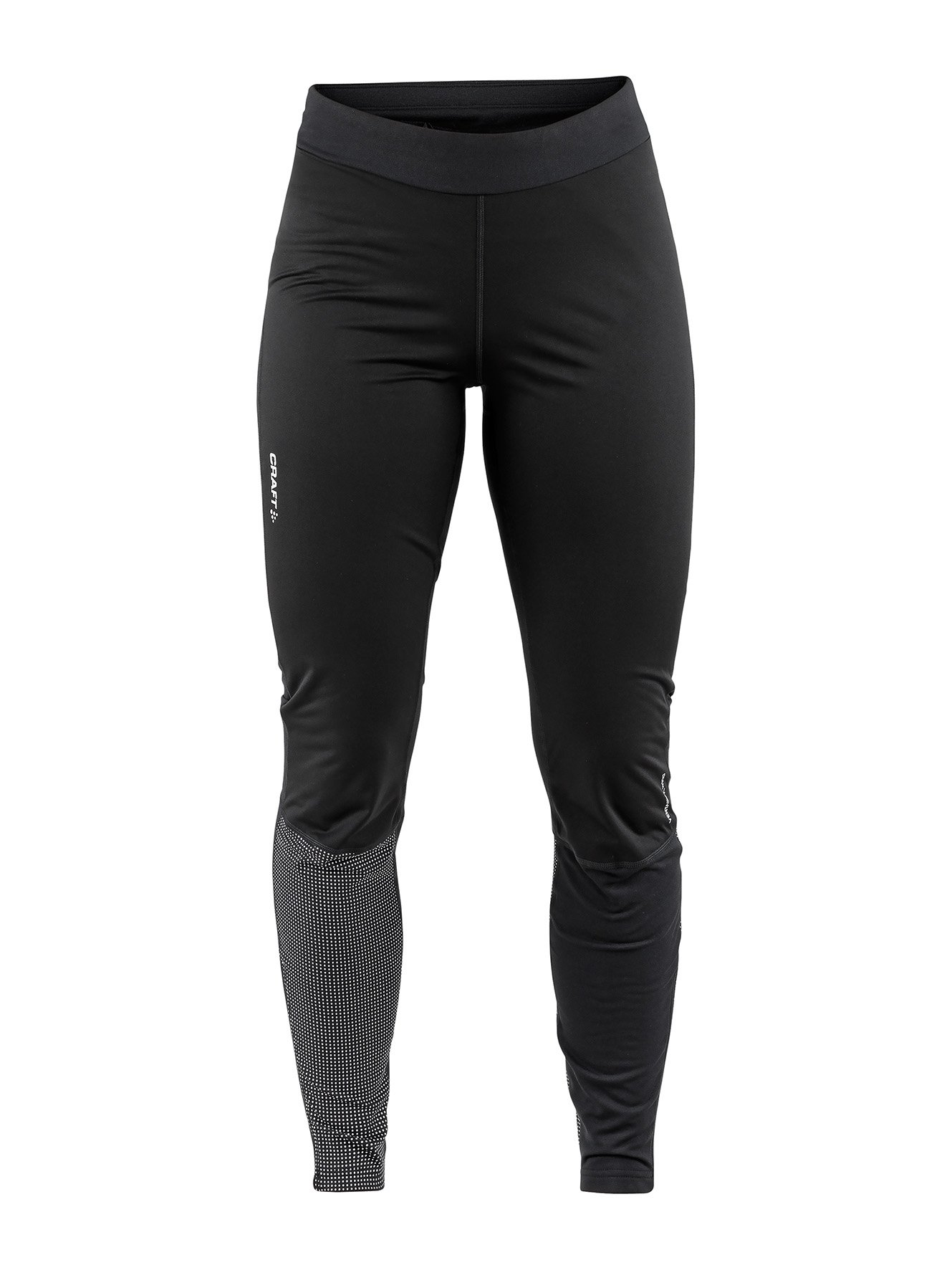 Тайтсы CRAFT Urban Run Thermal Wind W - Black / Silver