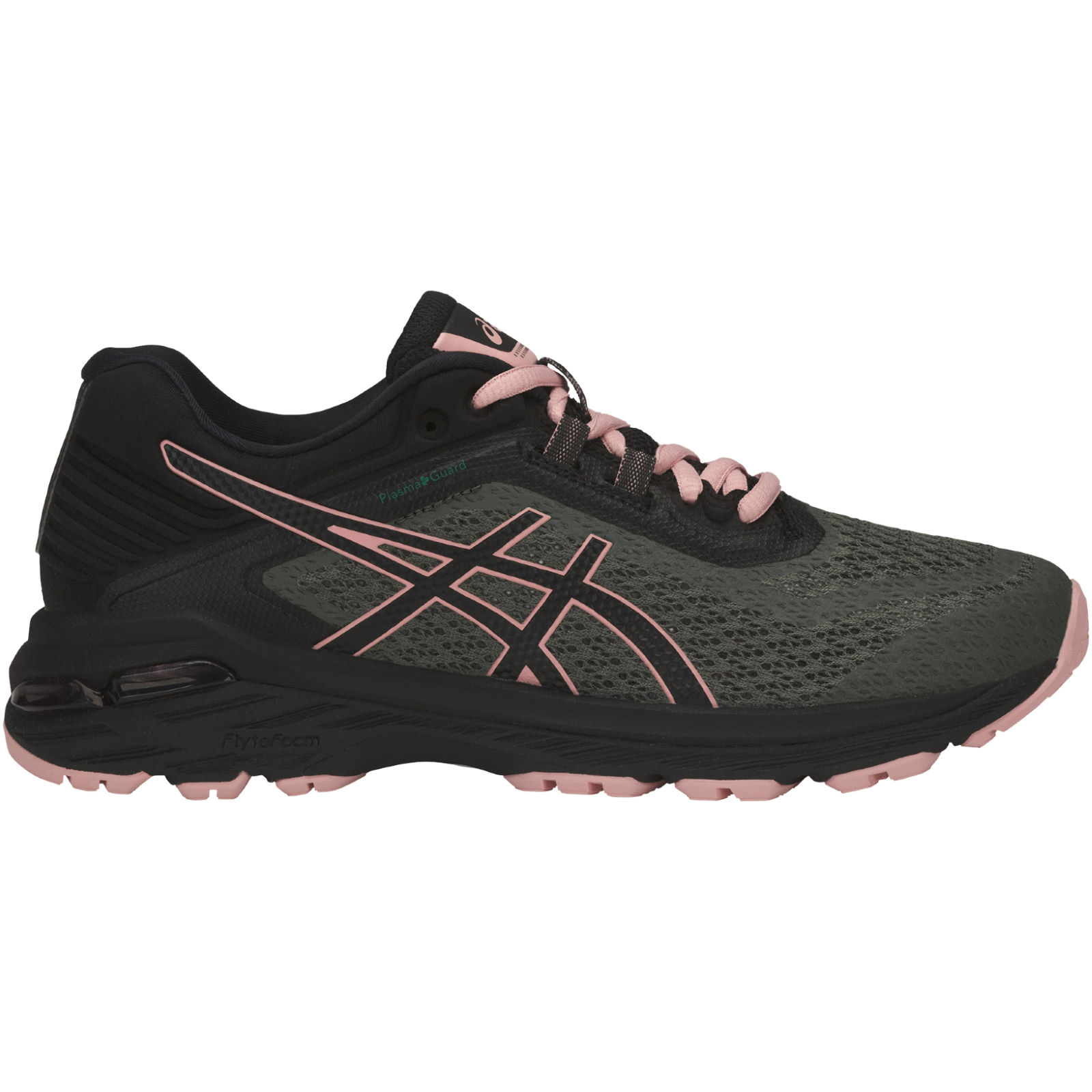 Asics GT-2000 6 Trail PlasmaGuard W - Four Leaf Clover / Black / Coral Cloud