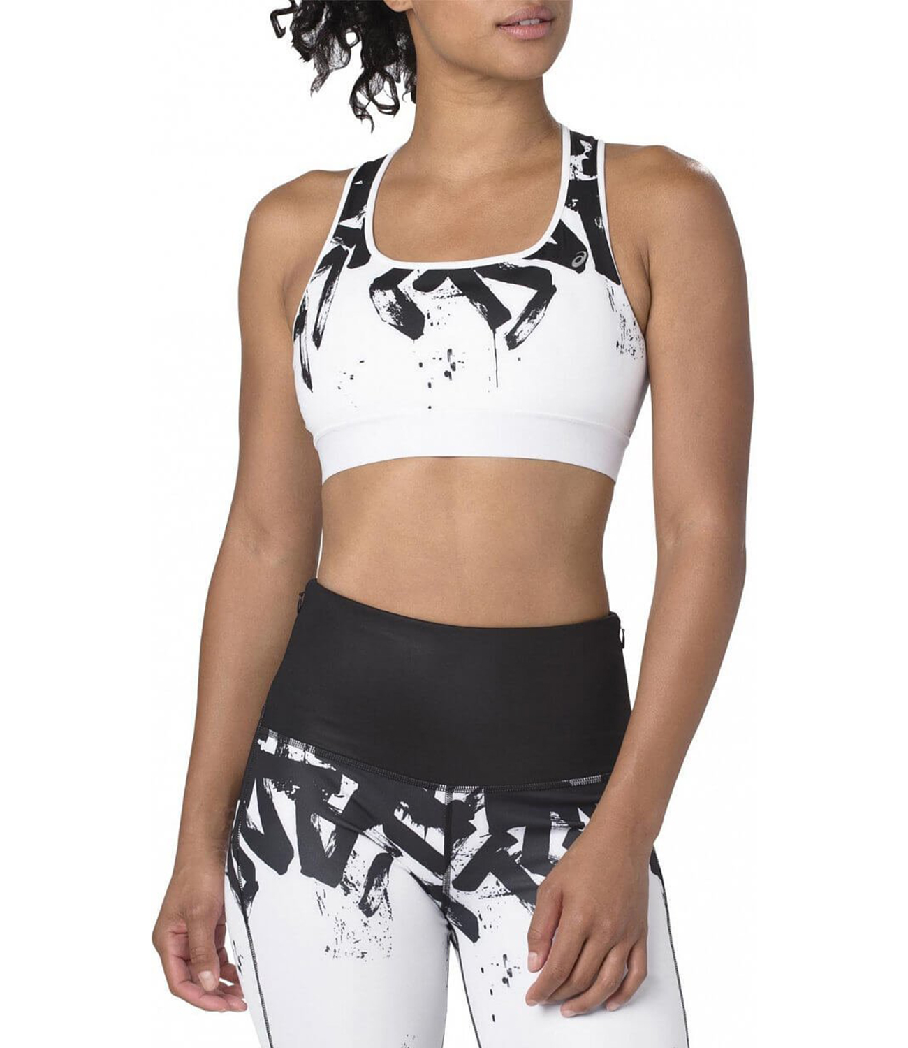 Бра Asics Bra W  - Brilliant White / Performance Black